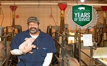 Allan Schnitker Celebrates 25 Years with Iowa Select Farms