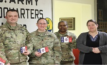 U.S. Army Reserves Recieves 750 Pork Care Packages