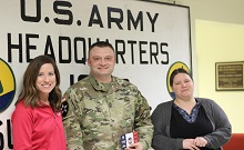 Deb and Jeff Hansen Foundation Deliver Pork Care Packages to the U.S. Army Reserves