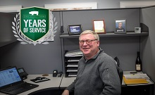 Bob Webb Celebrates 15 Years with Iowa Select Farms