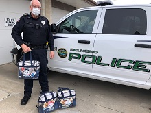 Belmond Police Department Receives Henry's Heroes Comfort Kits