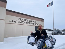 Comfort Kits Delivered to Clarke County