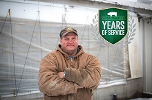 Darren Celebrates 25 Years with Iowa Select Farms