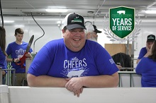 Doug Celebrates 25 Years with Iowa Select Farms