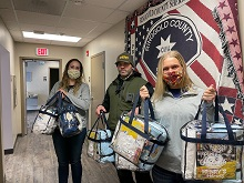 Ringgold County Sheriff's Department Receives Comfort Kits