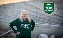 Jackie Celebrates 20 Years with Iowa Select Farms