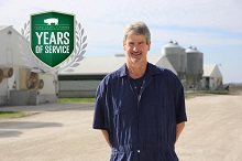 Randy Celebrates 25 Years With Iowa Select Farms