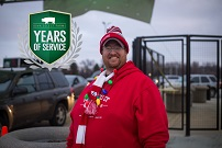 Tysen Celebrates 15 Years with Iowa Select Farms