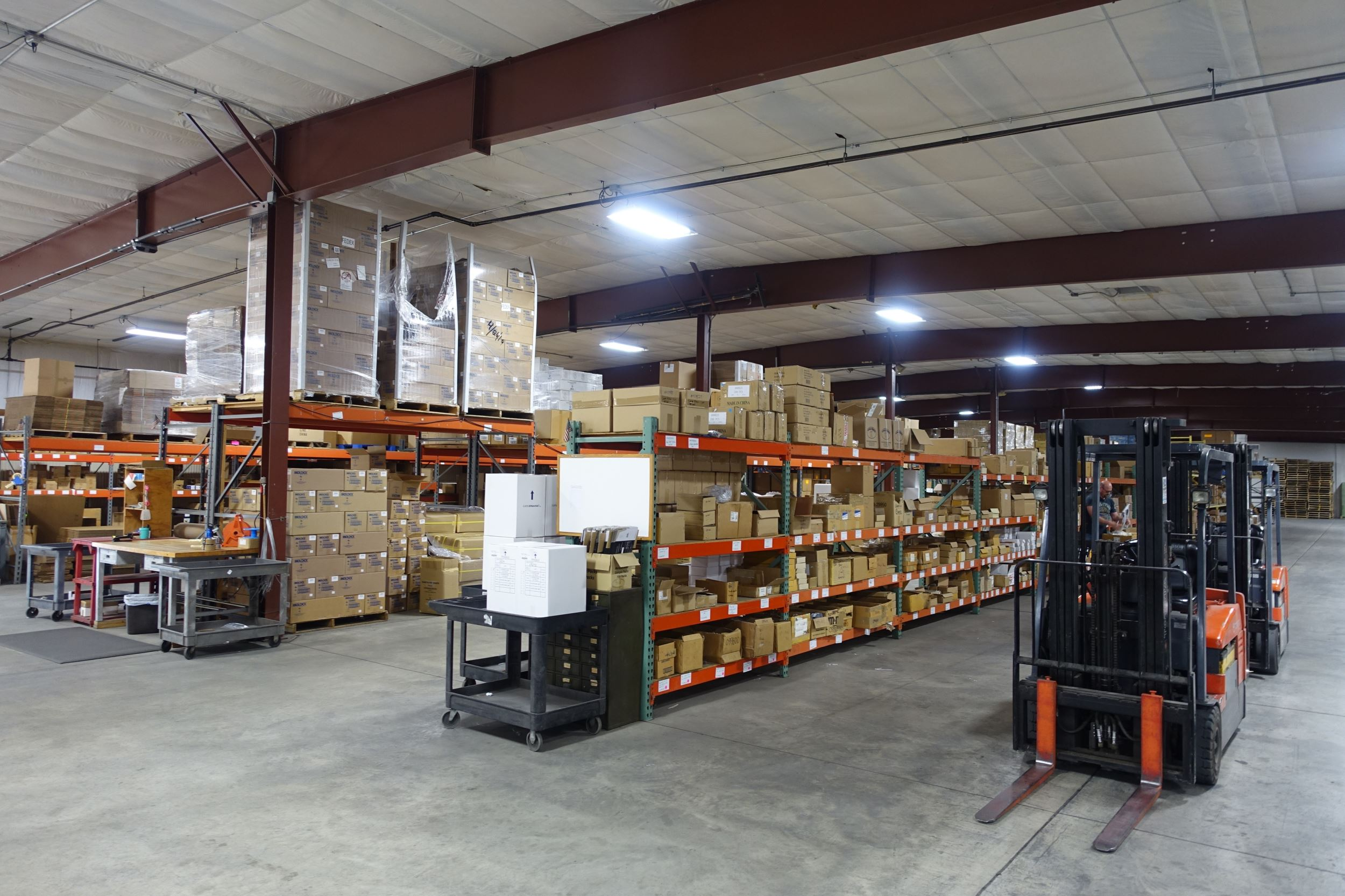 Inside Agri-Pro Enterprises Warehouse
