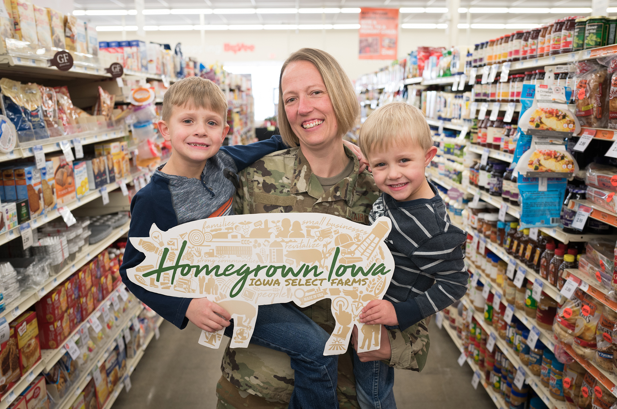 Pork Care Packages Honor Military Families