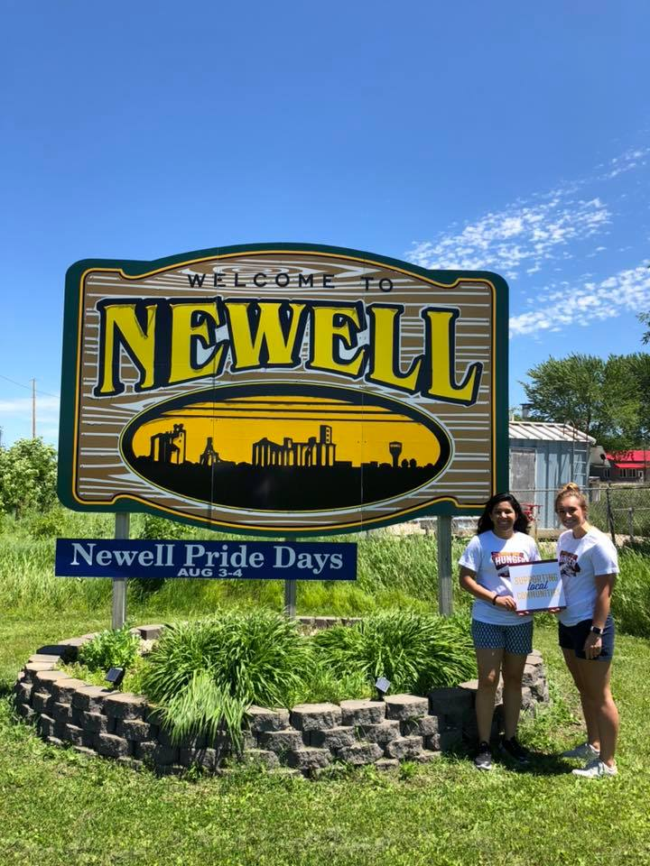 We were glad to add Newell to the list this year!