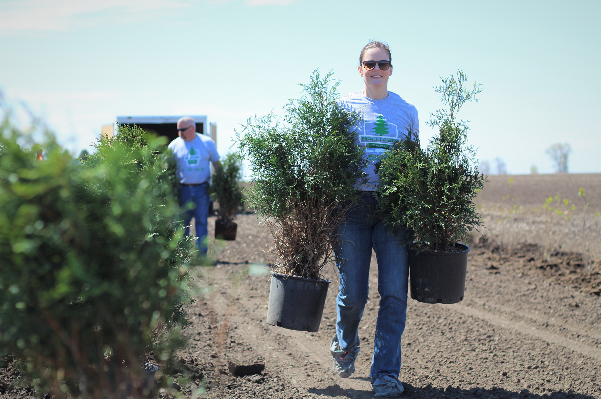 Project Green Kicks Off 2019 Tree Planting Season