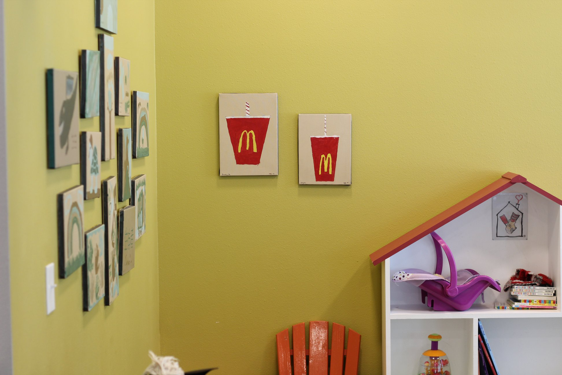 Inside the Ronald McDonald house