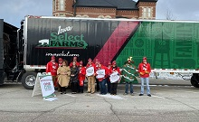 Eldora was Stop Number Two of Operation Christmas Meal