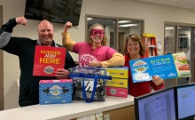 Central Lyon Community School District Received 1,400 Power Snack Coupon Booklets