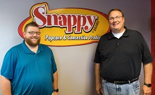 Snappy Popcorn is the Official Popcorn Supplier for Iowa Select Farms