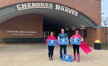 Power Snack Coupons Were Delivered to the Cherokee School District