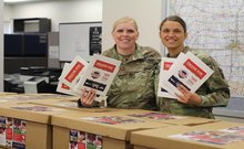 Pork Care Packages Deliveried to Members of Iowa Armed Services
