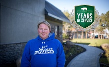 Congratulations to Dave Larson for celebrating 20 years with Iowa Select Farms