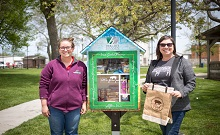 Second Little Free Pantry is Introduced