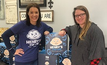 Henry's Heroes is Delivering Nearly 200 Boxes to Rural Shelters and Crisis Centers